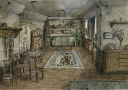 Design by Andrey Ponkratov | Drawing room in Victor's house
